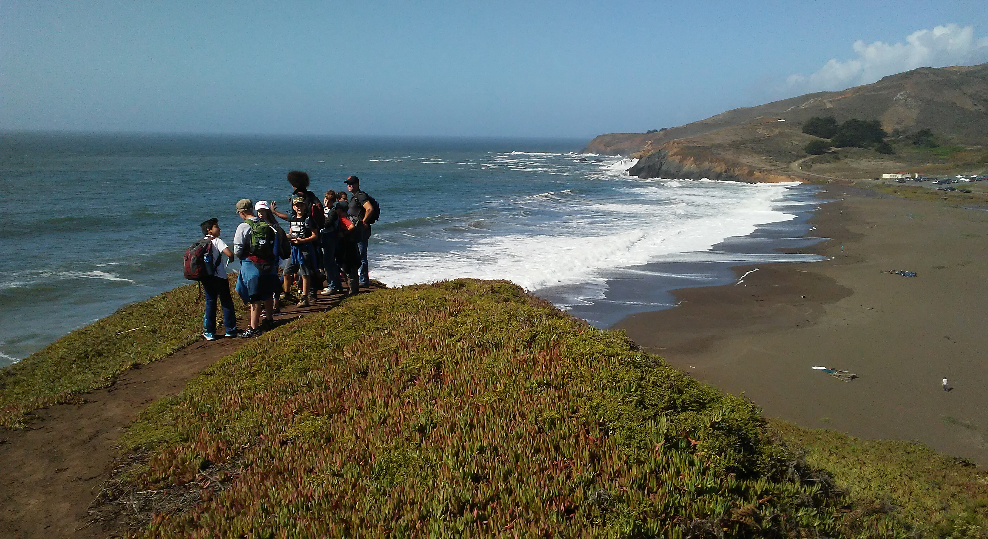 Students at Marin Headlands